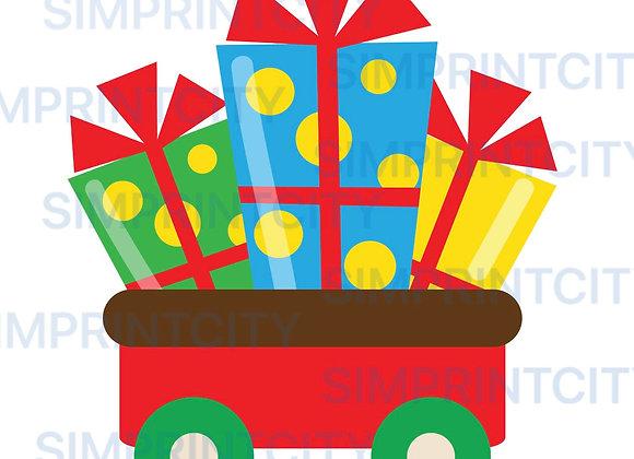 Train Cart #2 Cookie Cutter