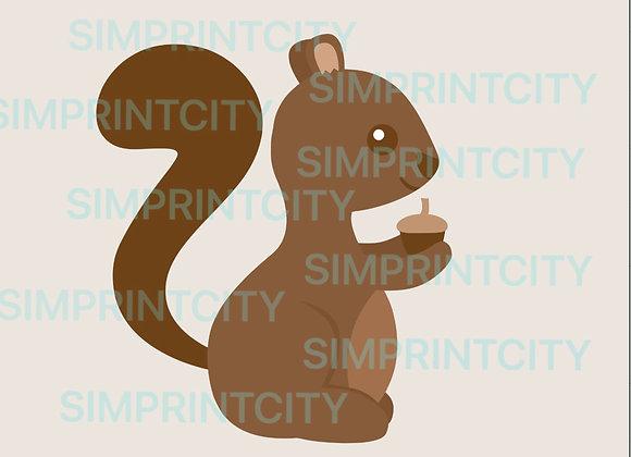 Squirrel Cookie Cutter