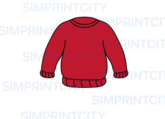 Sweater Cookie Cutter