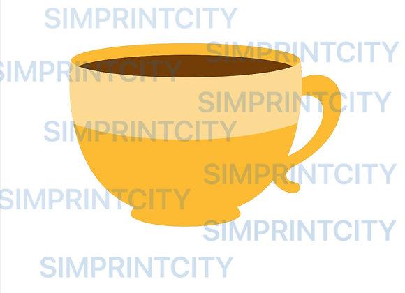 Coffee / Tea Cup Cookie Cutter