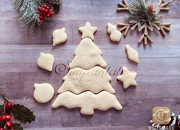 Multi Cutter Tree Cookie Cutter