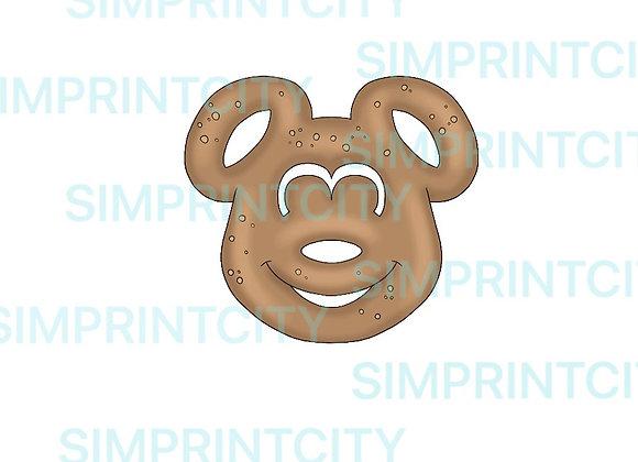 Mouse Shaped Pretzel Cookie Cutter