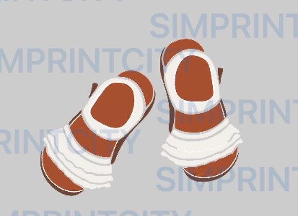 Baby Sandals Cookie Cutter