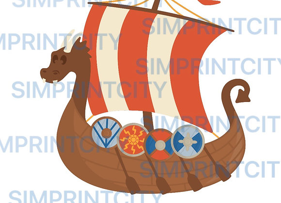 Viking Boat Cookie Cutter