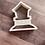 Thumbnail: Hen House Cookie Cutter
