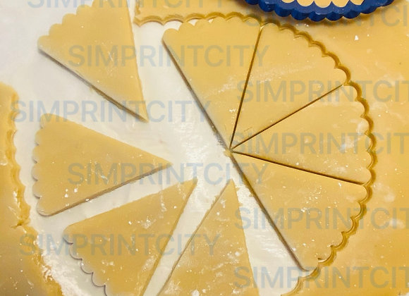 Scalloped Edge Pie Cookie Cutter