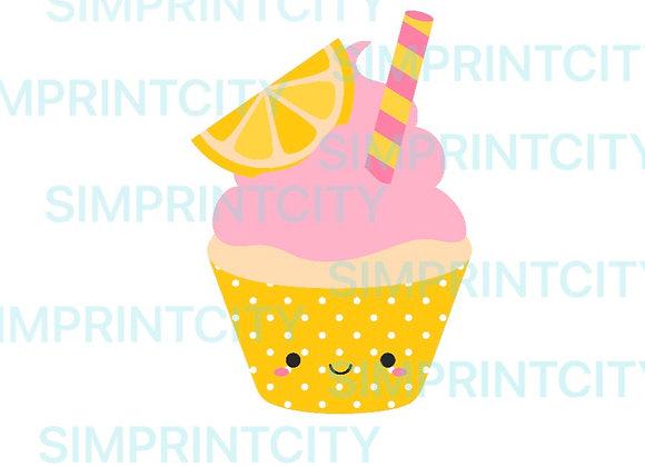 Lemonade Cupcake Cookie Cutter