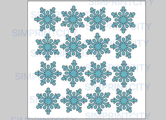 Snowflake Stencil #2