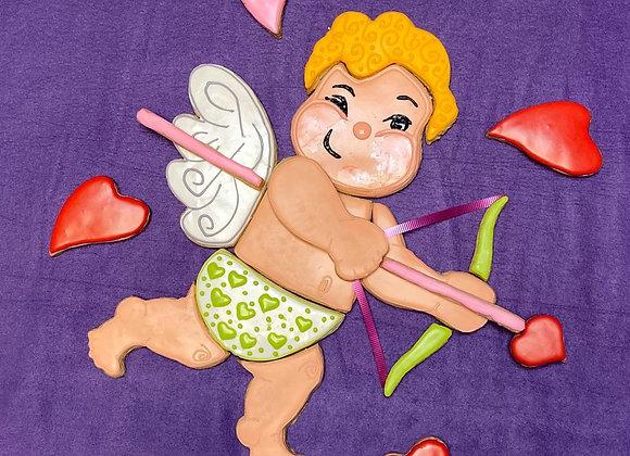 Cupid Platter Cookie cutter set