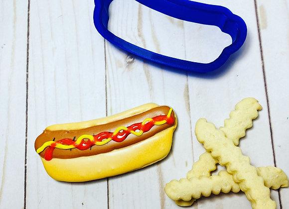 Hot Dog Cookie Cutter