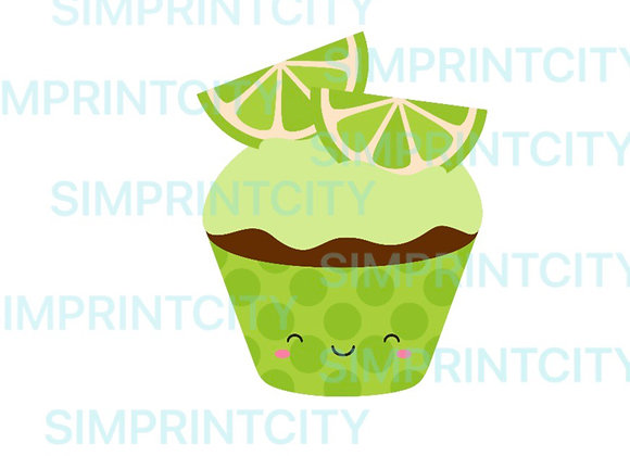 Lime Cupcake Cookie Cutter