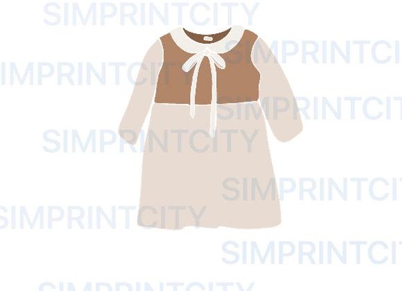 Baby Dress #1 Cookie Cutter