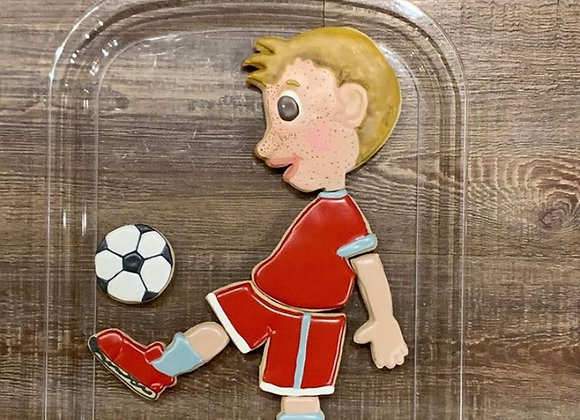 Soccer Player Cookie cutter set