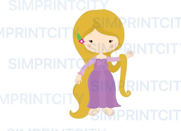 Princess #5 Cookie Cutter