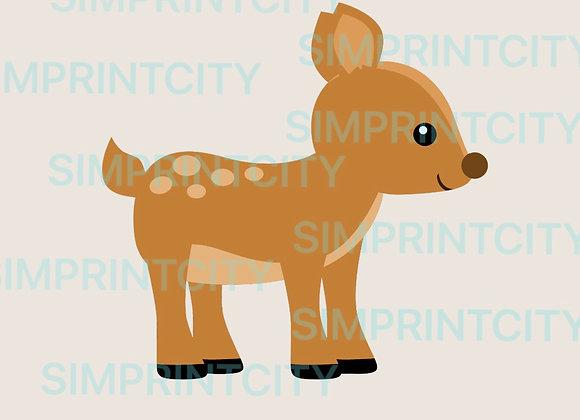 Woodland Deer Cookie Cutter