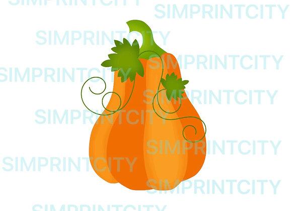 Tall Pumpkin Cookie Cutter #1
