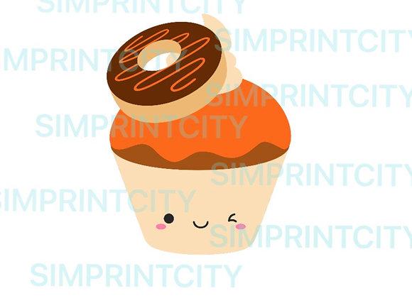 Donut Cupcake Cookie Cutter