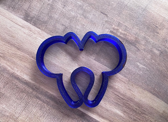Mouse Ears Cookie Cutter