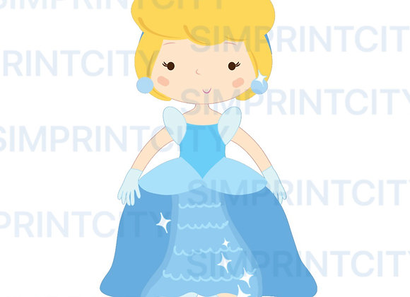 Princess #4 Cookie Cutter