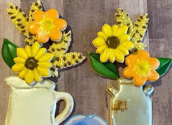 Flower Platter Set
