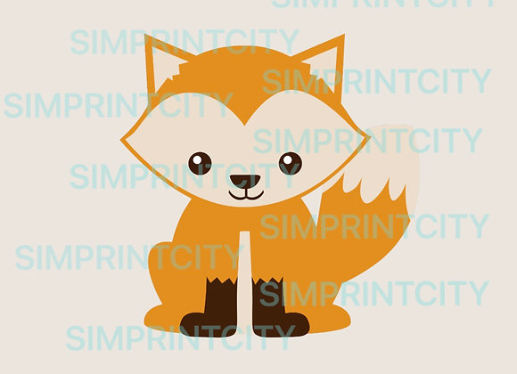 Woodland Fox Cookie Cutter