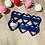 "Thumbnail: Mini 2"" Multi Heart Cookie Cutter"