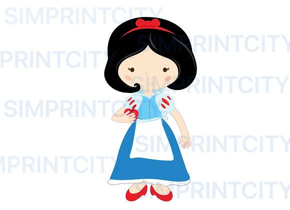 Princess #6 Cookie Cutter
