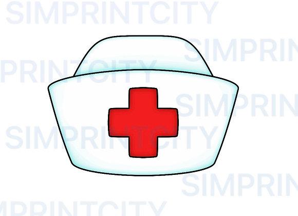Nurse Cap Cookie Cutter