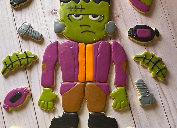 Frankenstein Cookie Cutter Platter