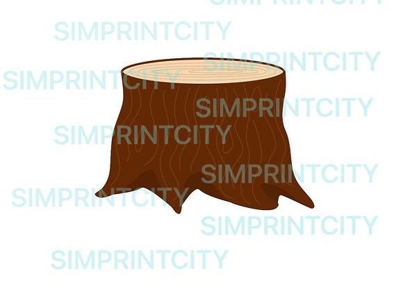 Woodland Tree Stump Cookie Cutter