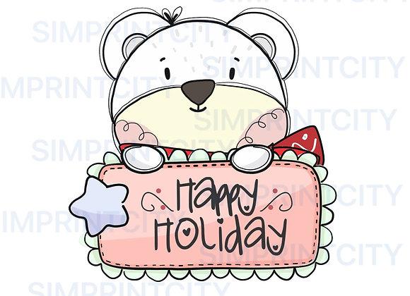 Bear Cookie Cutter Plaque