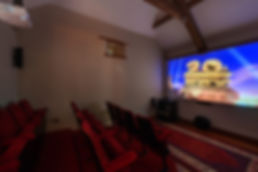 Cinema Room, Coombe Farmhouse