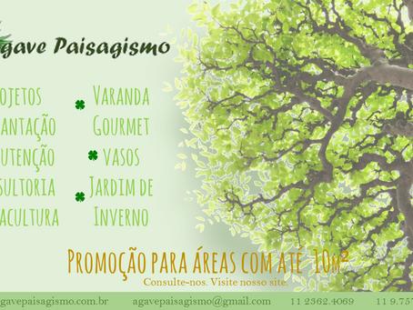 Aproveite nossa promoção para áreas com até 10m²