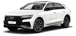 Audi Q8 60 TFSIe hybride rechargeable 462ch Blanc Carrare