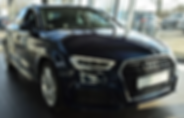 A3 Berline 35 TFSI S-Tronic Pack S Line Bleu Cosmo