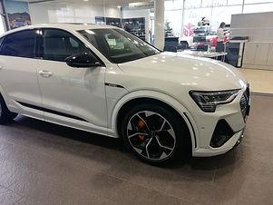 Audi E-Tron S Sportback Blanc Glacier