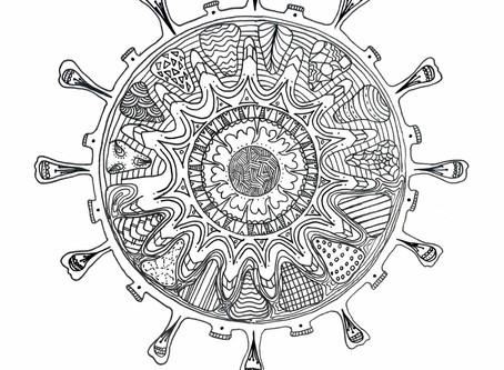 Koronavírus színező és meditáció (Lélekápolás 22.)