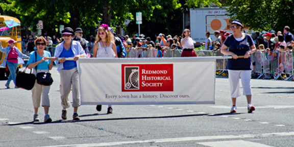 2013 New Redmond Historical Society banner
