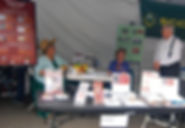 RHS Booth at the Saturday Market