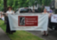 Redmond Historical Society in the Derby Days parade