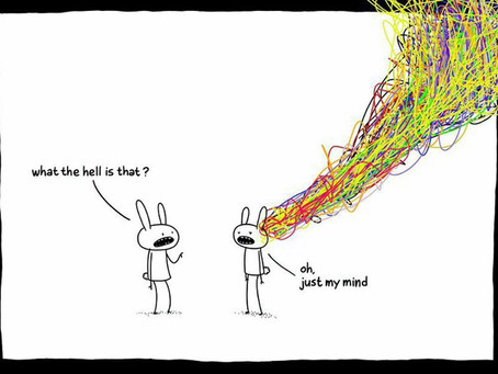 Overthinking can get your brain into a real mess. Let therapy help you untangle the knots..