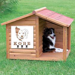 12319 collie dog leash holder