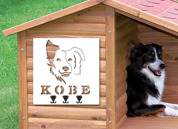 Collie Dog Leash Holder