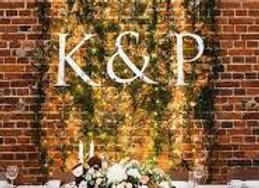Wedding Letter Sign
