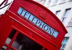 La tradizionale cabina telefonica