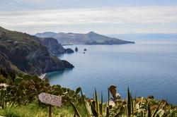 L'isola di Lipari nelle Eolie