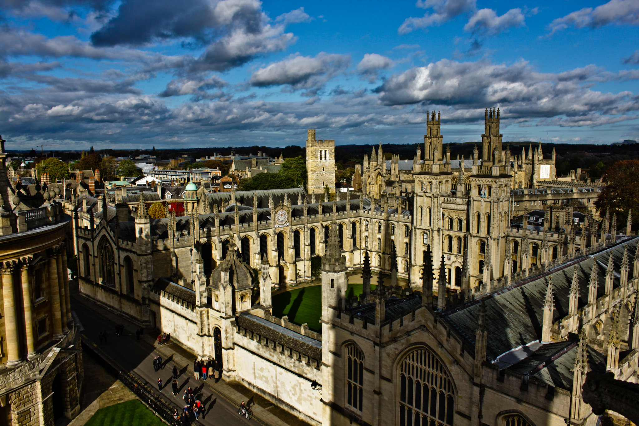 Panoramica di Oxford
