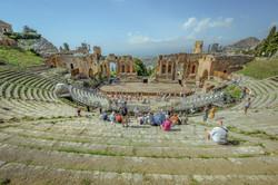 Il teatro greco di Taormina
