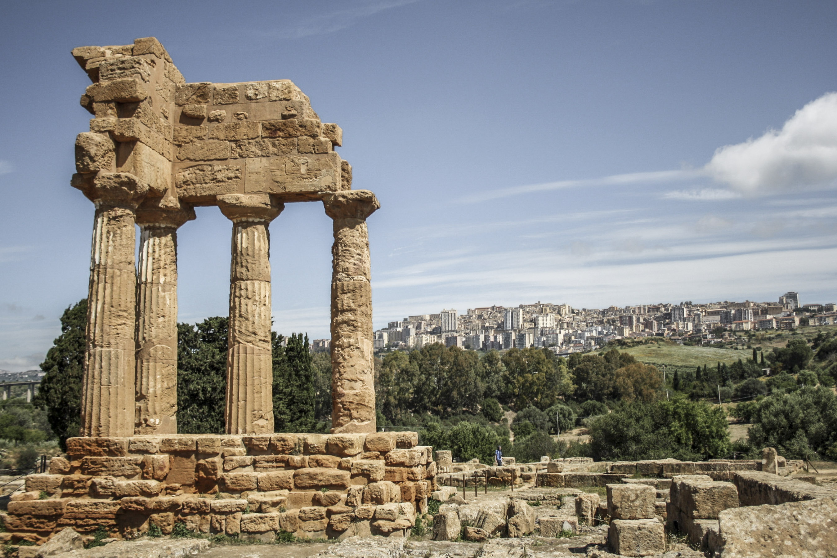 Castor and Pollux Temple - Agrigento