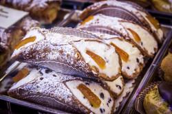 Deliziosi cannoli siciliani